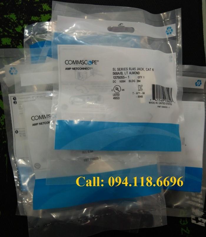 Nhân mạng Cat6 AMP RJ45 mã 1375055-11