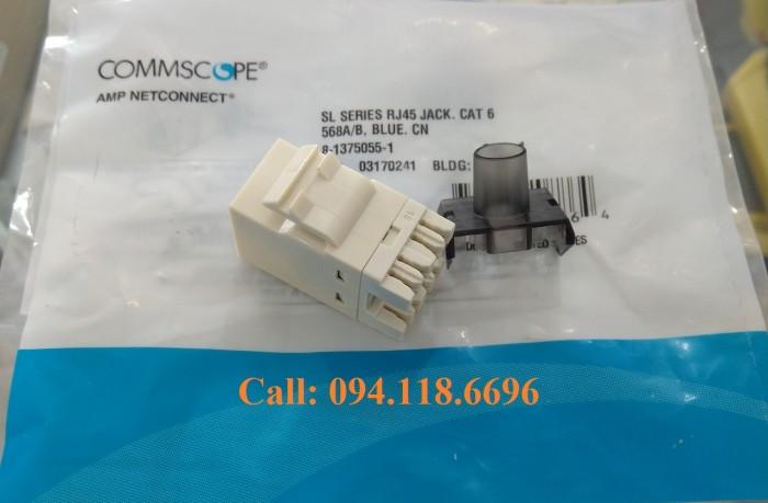 Nhân mạng Cat6 AMP RJ45 mã 1375055-14