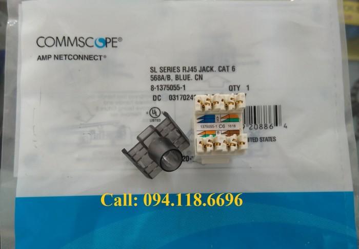 Nhân mạng Cat6 AMP RJ45 mã 1375055-10