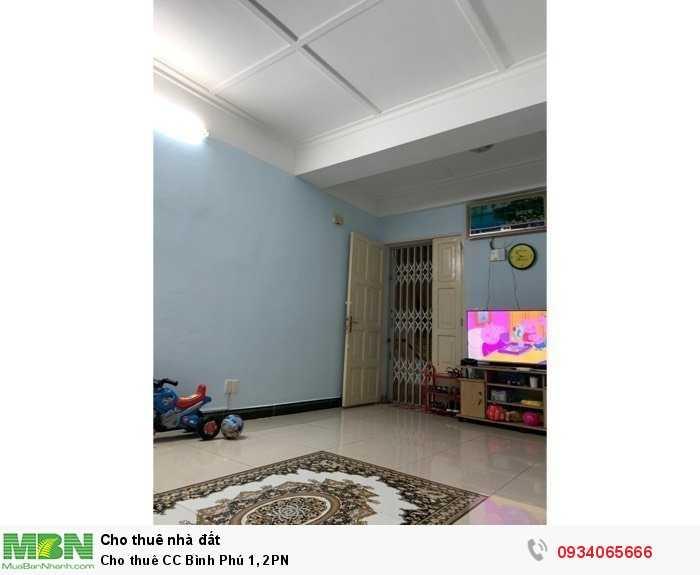 Cho thuê CC Bình Phú 1, 2PN