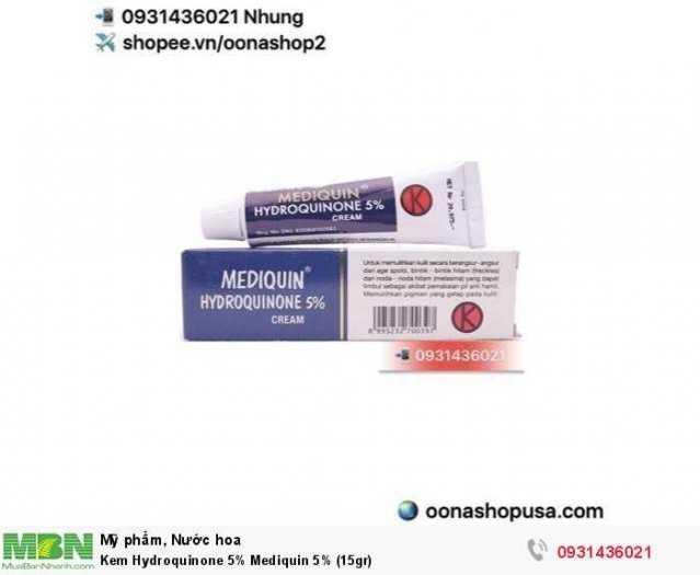 Kem Hydroquinone 5% Mediquin 5% (15gr)0
