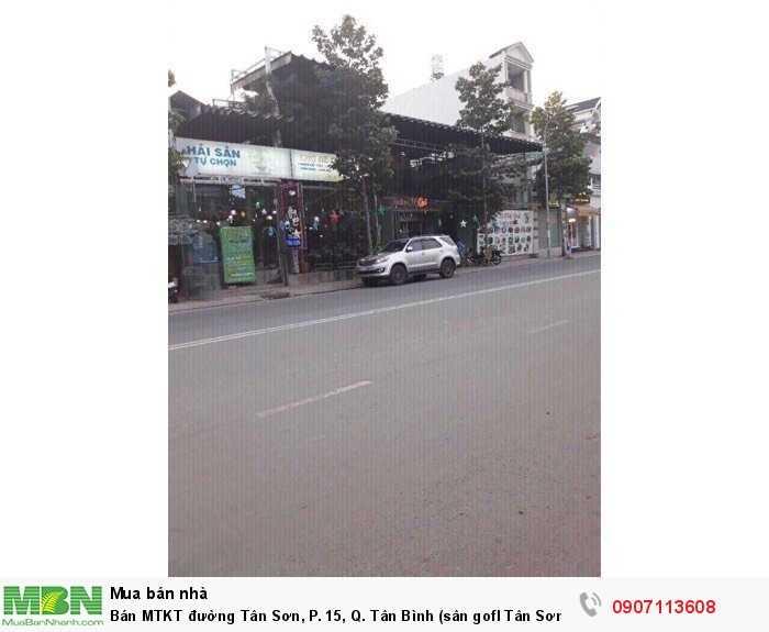 Bán MTKT đường Tân Sơn, P. 15, Q. Tân Bình (sân gofl Tân Sơn Nhất)