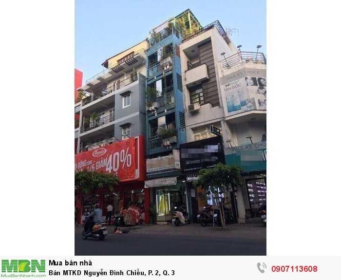 Bán MTKD Nguyễn Đình Chiểu, P. 2, Q. 3