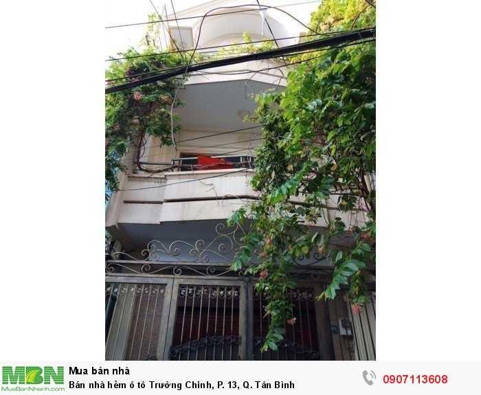 Bán nhà hẻm ô tô Trường Chinh, P. 13, Q. Tân Bình