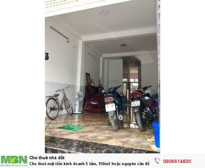 Cho thuê mặt tiền kinh doanh 5 tấm, 150m2 hoặc nguyên căn đối diện AEON, có thang máy