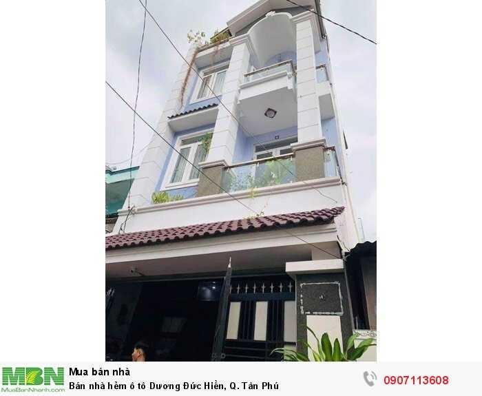 Bán nhà hẻm ô tô Dương Đức Hiền, Q. Tân Phú
