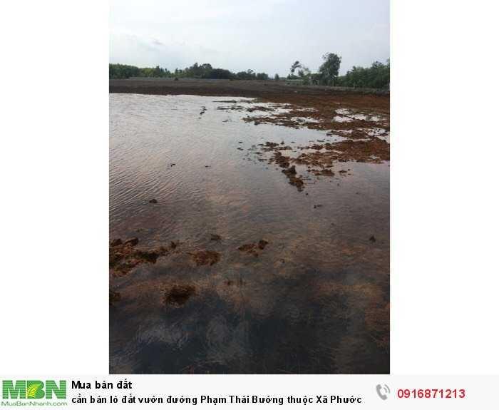 Cần bán lô đất vườn đường Phạm Thái Bường thuộc Xã Phước Khánh Nhơn Trạch Đồng Nai