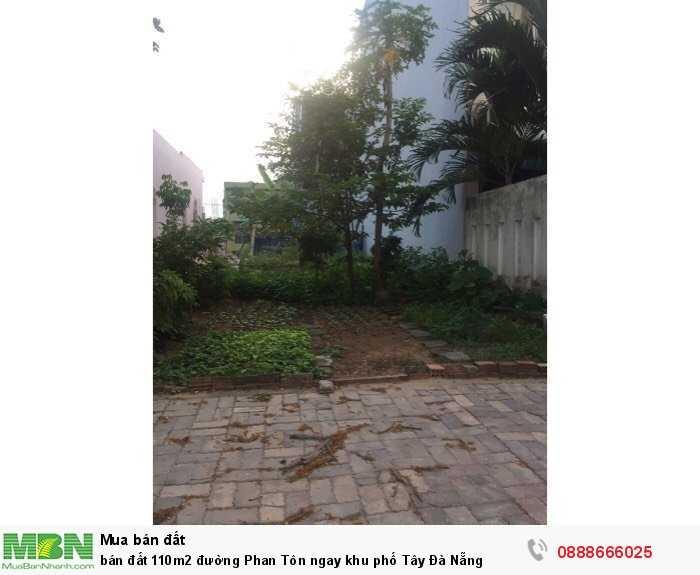 Bán Đất 110M2 Đường Phan Tôn Ngay Khu Phố Tây Đà Nẵng