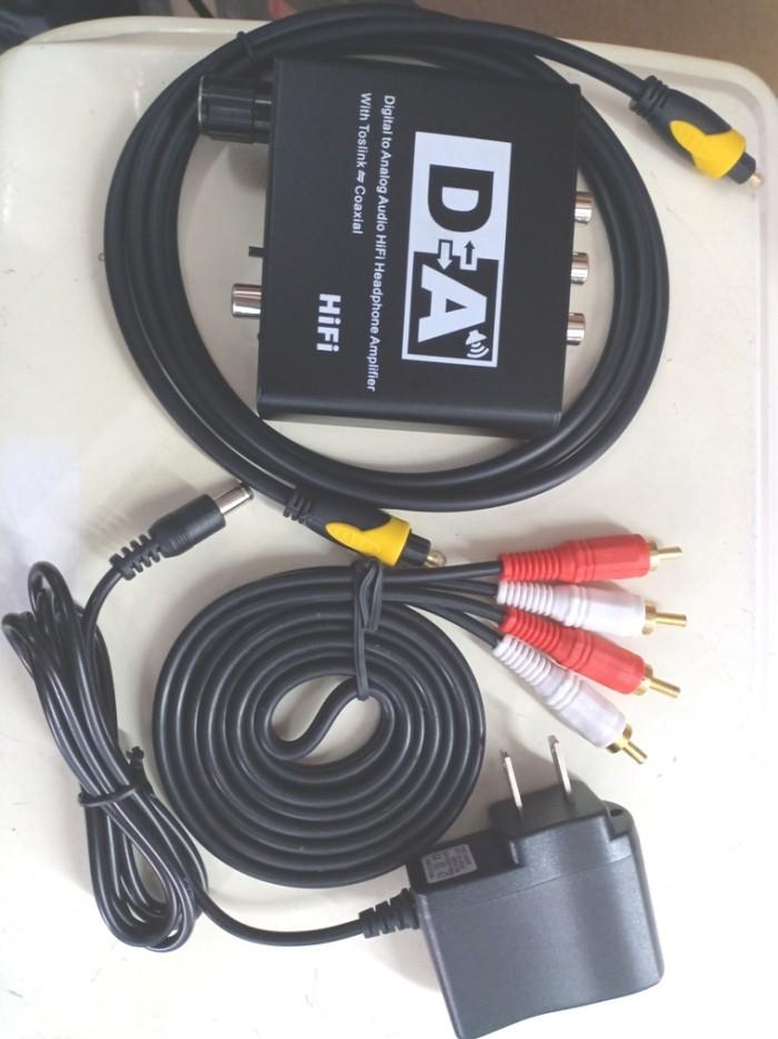 Trọn bộ giá 390K bán tại Điện Máy Hải gồm có: Đầu chủ OEM, adapter 5V 1A, dây Audio, dây optical, trọn bộ giá 390K ( Bộ chuyển đổi là 290K, đôi dây optical + AV là 100K.)4