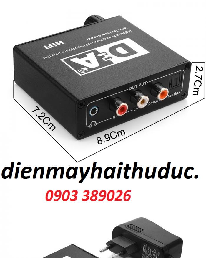 Bộ chuyển optical ra audio OEM kích thước nhỏ gọn bỏ túi3