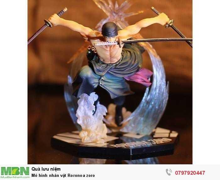 Mô hình nhân vật Roronoa zoro0