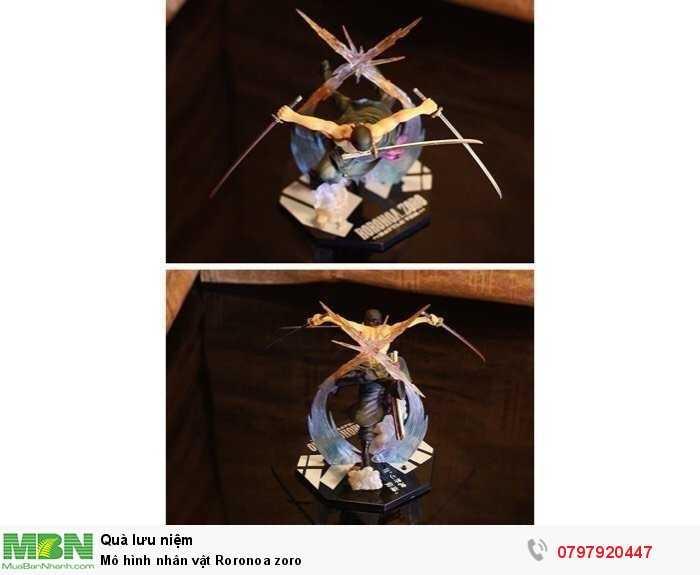 Mô hình nhân vật Roronoa zoro1
