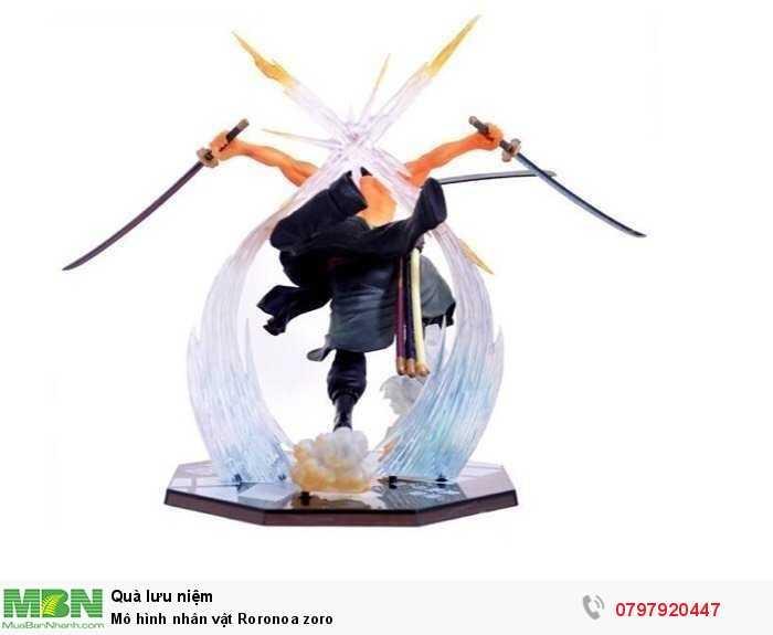 Mô hình nhân vật Roronoa zoro2