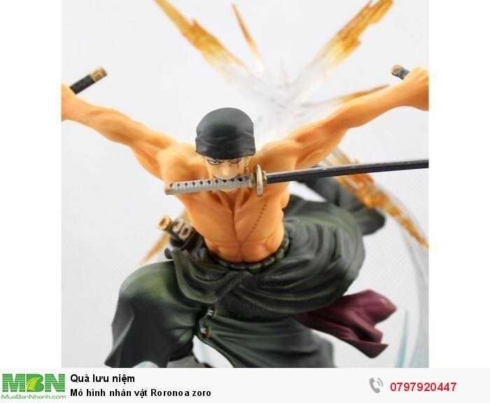 Mô hình nhân vật Roronoa zoro3