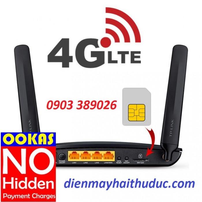 TP-LINK TL-MR6400 - Bộ Phát Wifi cố định hoặc sim 3G/4G