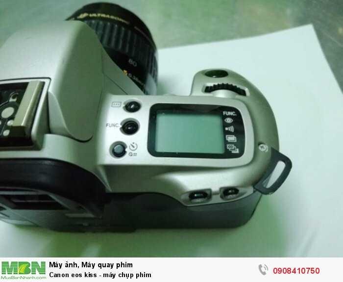 Canon eos kiss - máy chụp phim1