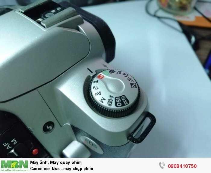 Canon eos kiss - máy chụp phim3