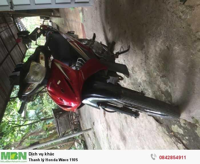 Thanh lý Honda Wave 110S 0