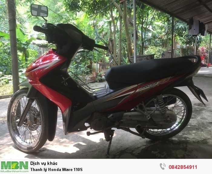 Thanh lý Honda Wave 110S 1