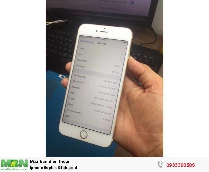 iphone 6splus 64gb gold0