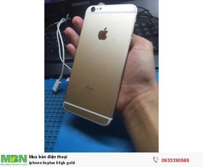 iphone 6splus 64gb gold2