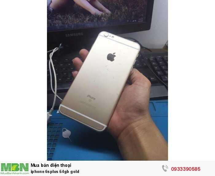 iphone 6splus 64gb gold3