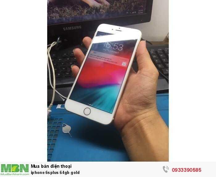 iphone 6splus 64gb gold4