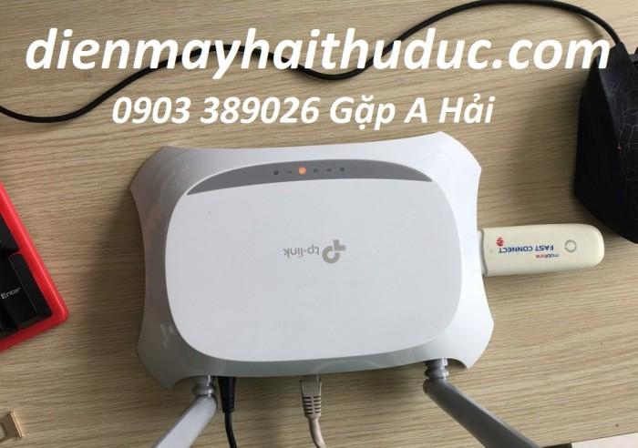 Router phát wifi TP-Link TL-MR 3420 Chia sẻ video HD không dây nội bộ, với tốc độ lên đến 300Mbps.