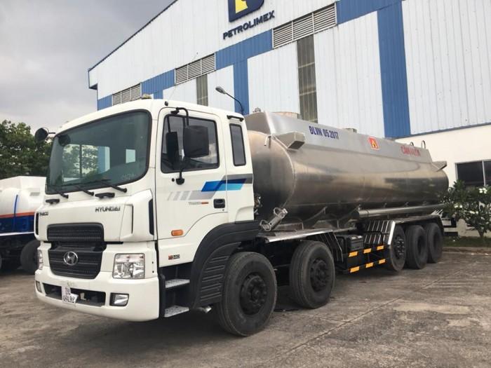 Xe bồn chở xăng dầu Huyndai HD320 - 21 - 22 Khối