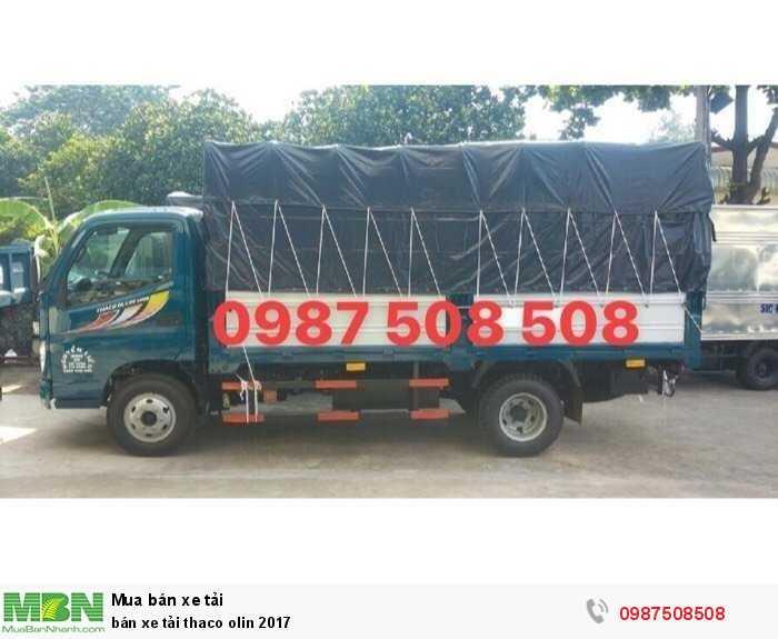 Bán xe tải thaco olin 2017