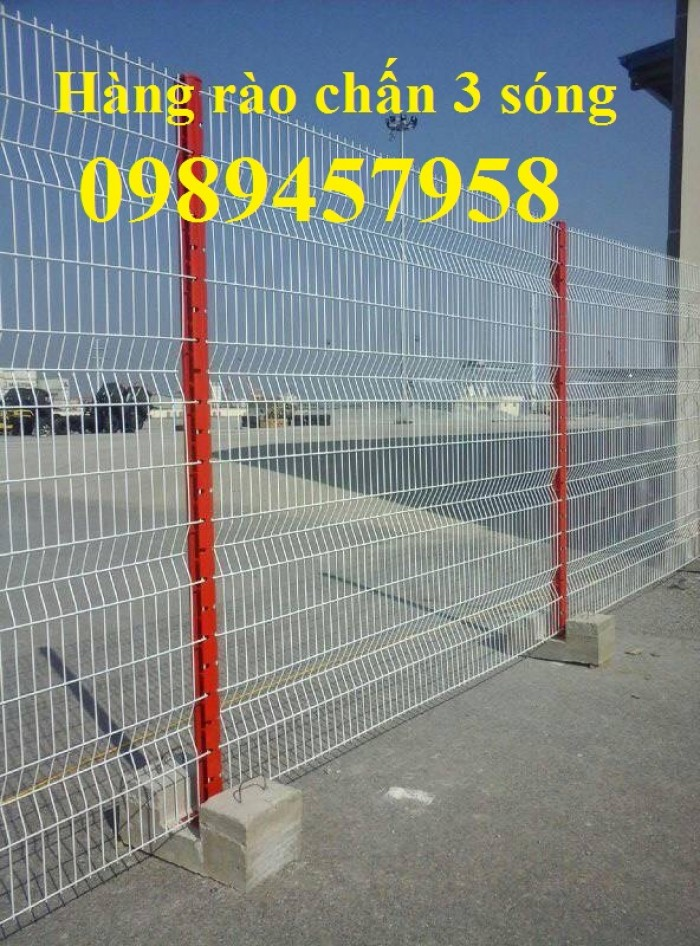Thiết kế và lắp đặt Hàng rào sơn tĩnh điện phi 5 50x200, 50x150, 50x2000