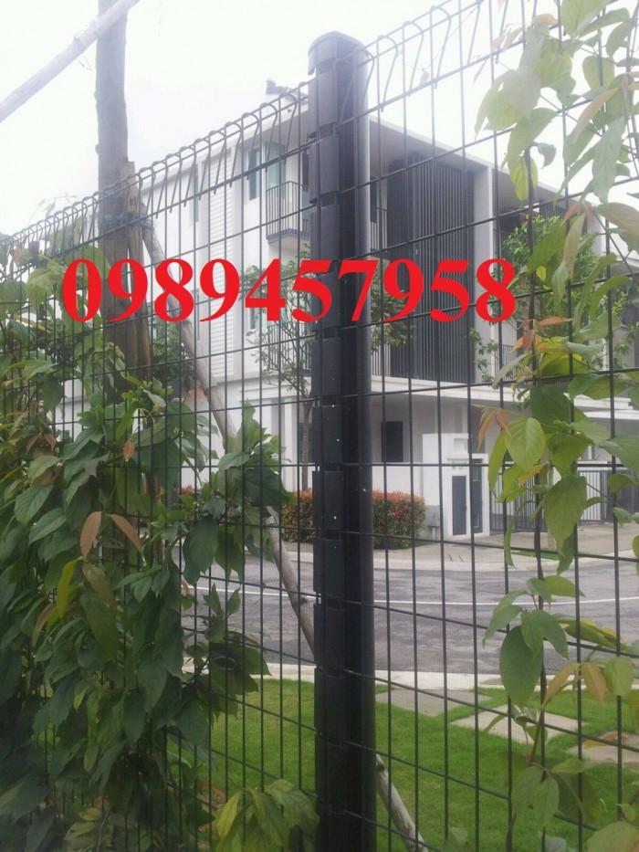 Thiết kế và lắp đặt Hàng rào sơn tĩnh điện phi 5 50x200, 50x150, 50x2001
