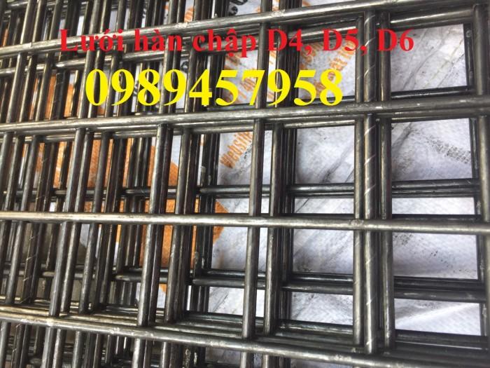 Lưới hàn chập phi 4 ô 50x50 khổ 2mx4m có sẵn2
