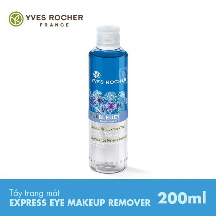 Tẩy Trang Mắt Yves Rocher Express Eye Makeup Remover 200ml chính hãng1