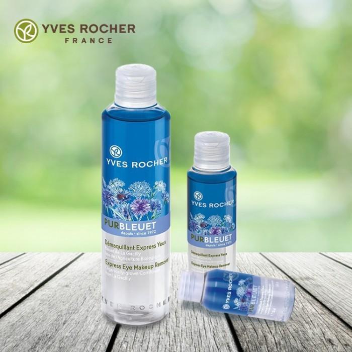 Tẩy Trang Mắt Yves Rocher Express Eye Makeup Remover 200ml chính hãng0