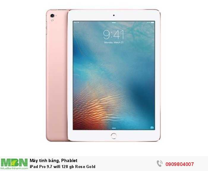 iPad Pro 9.7 wifi 128 gb Rose Gold0