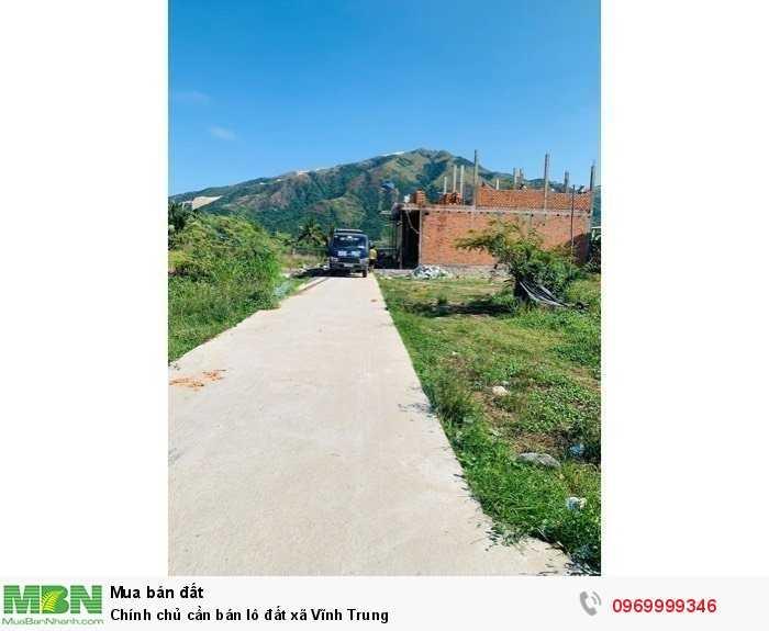 Chính chủ cần bán lô đất xã Vĩnh Trung