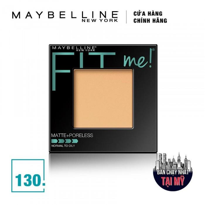 Phấn Phủ Mịn Lì Tự Nhiên Maybelline Fit Me Matte + Poreless Màu 130 Buff Beige 9g1