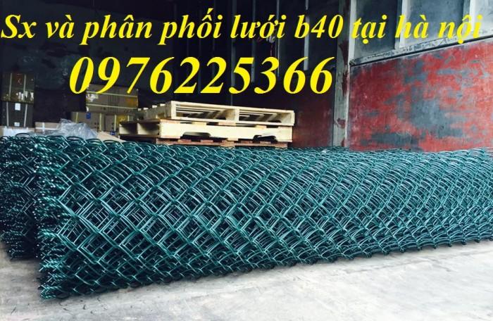 Lưới B40 bọc nhựa ,lưới hàng rào B40 bọc nhựa0