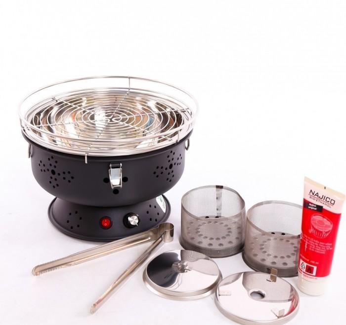 Bếp nướng than hoa không khói Nam Hồng BN300 ,bếp nương để bàn cho quán lẩu nướng6
