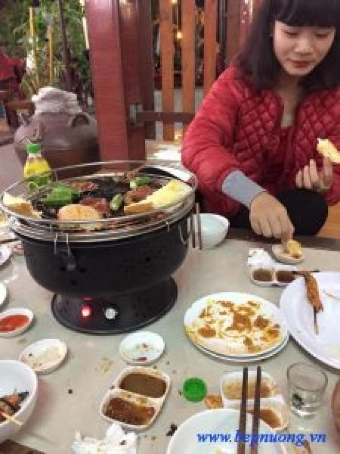 Bếp nướng than hoa không khói Nam Hồng BN300 ,bếp nương để bàn cho quán lẩu nướng3