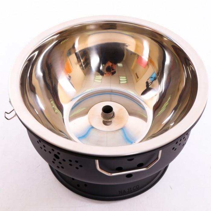 Bếp nướng than hoa không khói Nam Hồng BN300 ,bếp nương để bàn cho quán lẩu nướng2