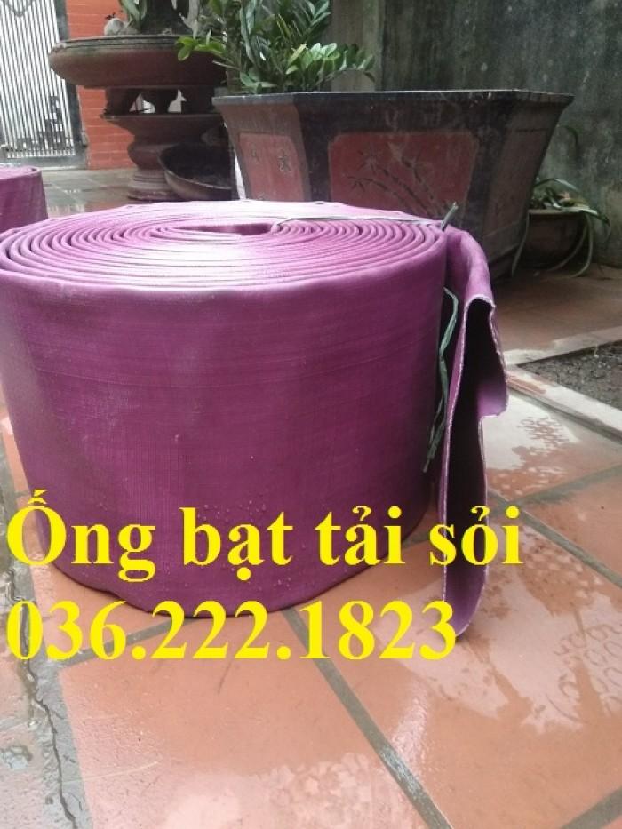 Ống bạt bơm bùn Chi Lê màu xanh phi 65 dùng cho cứu hỏa0