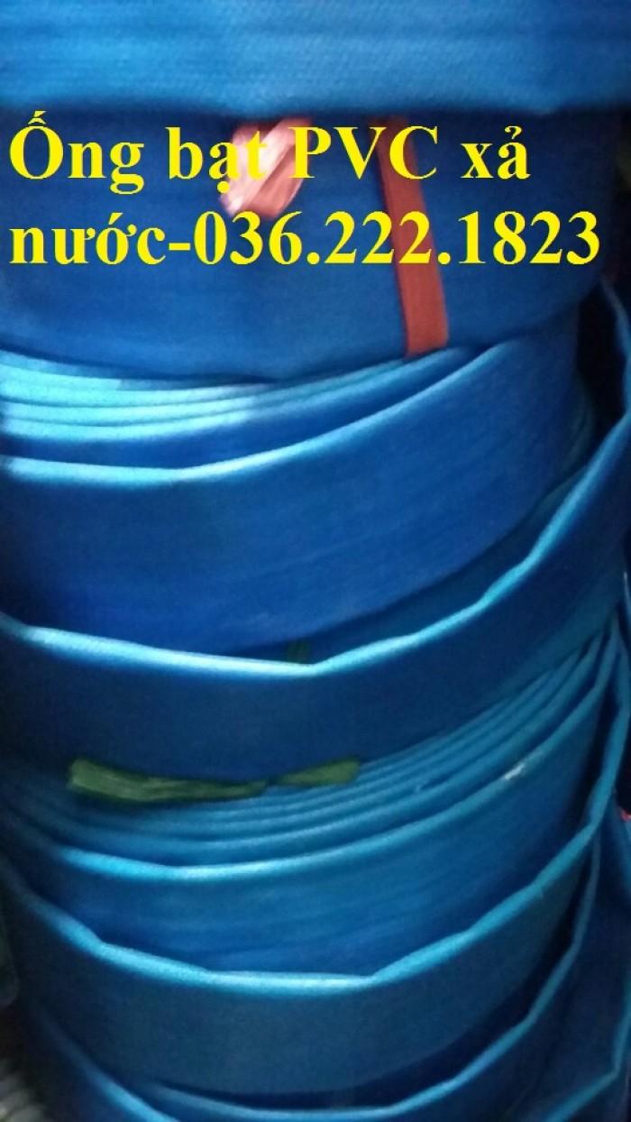 Ống bạt bơm bùn Chi Lê màu xanh phi 65 dùng cho cứu hỏa2