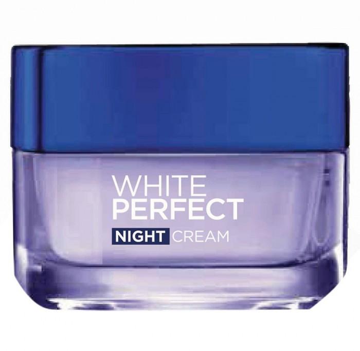 Kem Dưỡng Trắng Da Ban Đêm L'Oreal White Perfect 50ml2