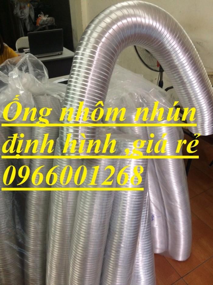 Ống nhôm nhún ,ống định hình phi 100,phi125,phi150,phi200...thông gió giá rẻ4