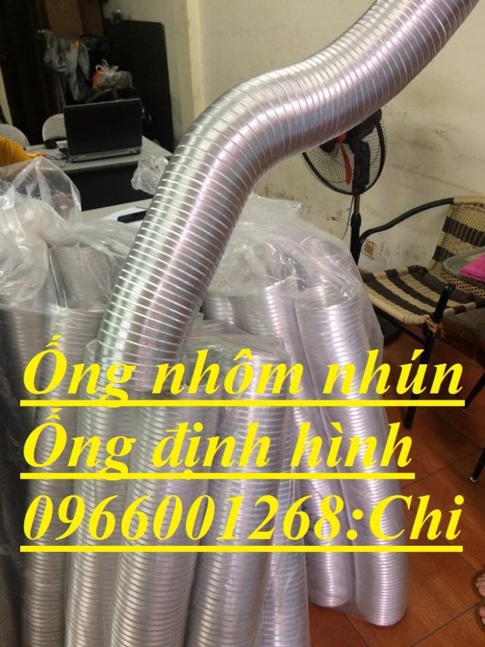 Ống nhôm nhún ,ống định hình phi 100,phi125,phi150,phi200...thông gió giá rẻ1