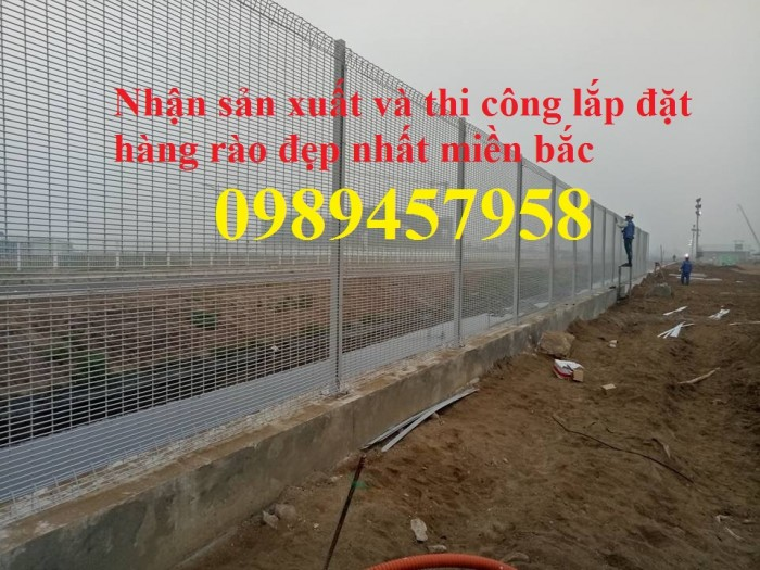 Lưới hàng rào mạ kẽm phi 6 ô 100x100, 50x2004