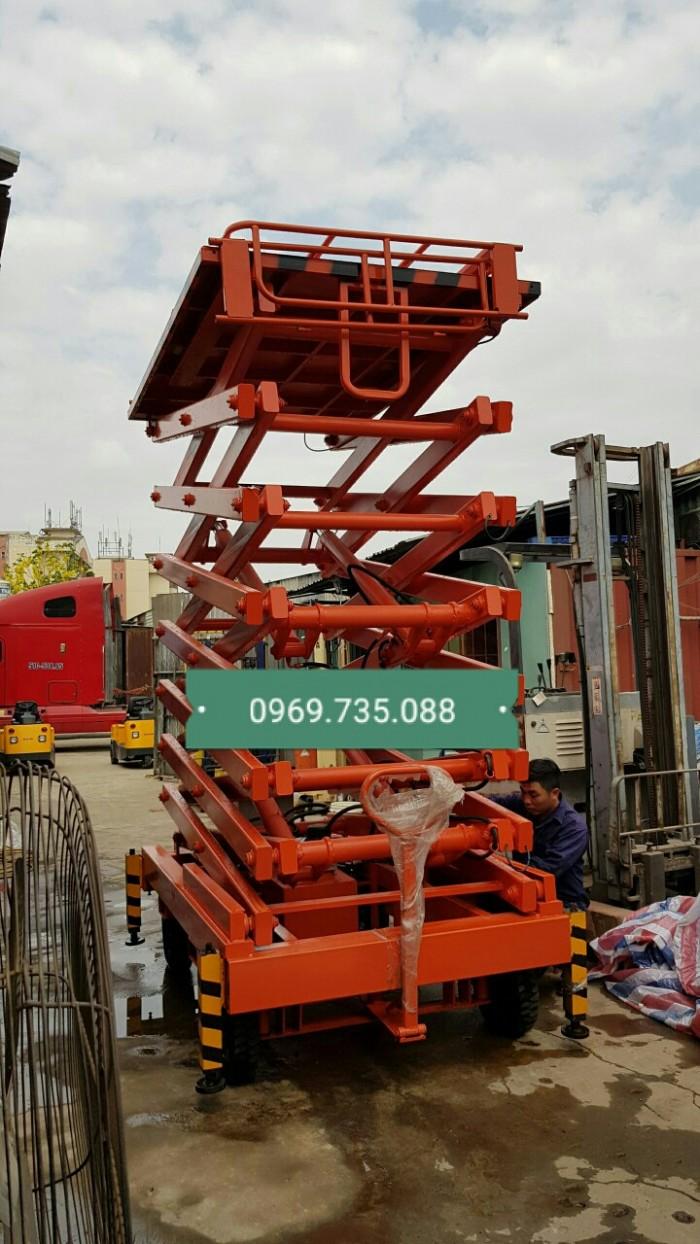 Xe nâng người SJY0.3-12 (300kg 12m) Ziczac0
