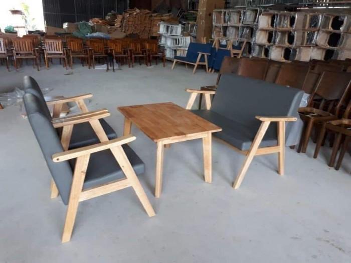 Bộ bàn ghế sofa cafe giá rẻ tphcm1